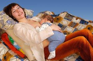Режим для кормящей мамы