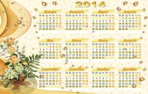 Календарь на 2014 год – Когда цветут сады