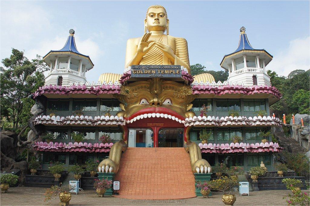 Золотой храм Дамбуллы