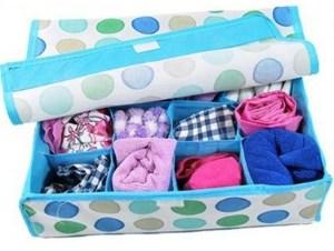 Коробочки для хранения трусиков и носочков ребёнка