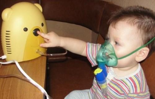 С чем можно делать инголяции ребенку