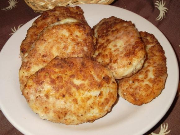 рецепт рубленных котлет из куриного филе