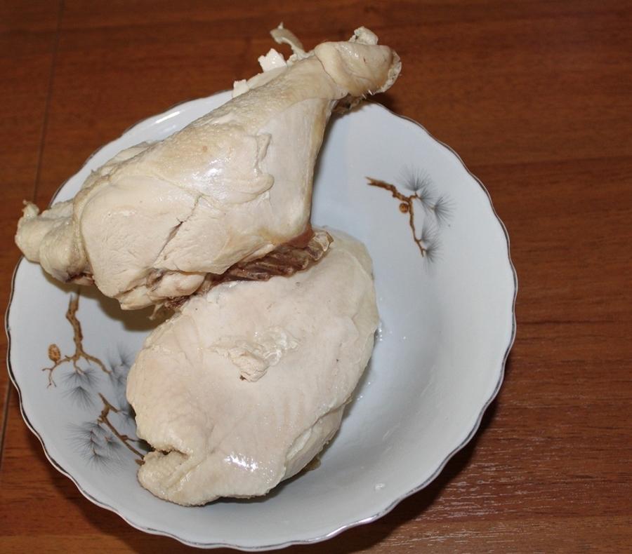 Сколько варить куриную грудку - рецепт с фото