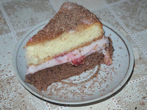 бисквитный торт рецепт с фото пошагово