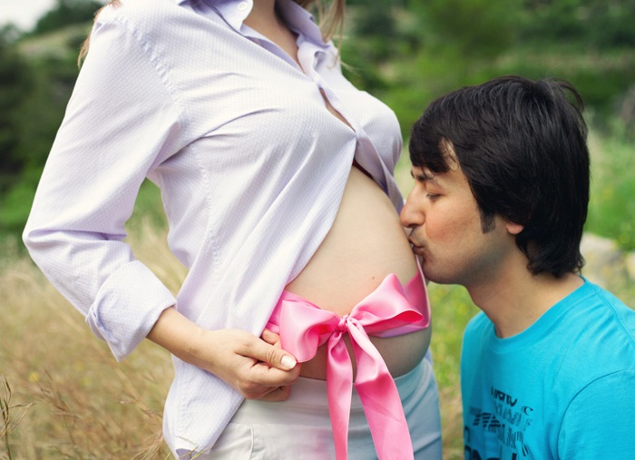 Фотосессия для беременных - идеи для фото на природе