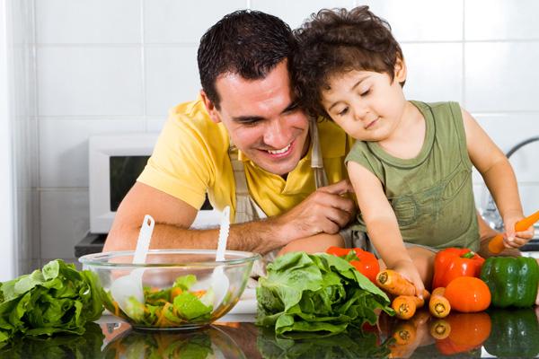Здоровое питание, начиная с детства