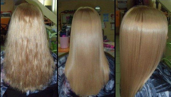 Можно ли после кератинового выпрямления красить волосы?