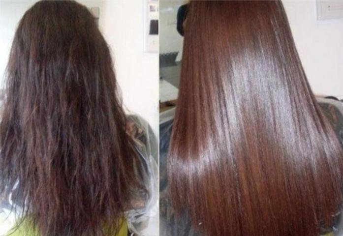 набор для кератинового выпрямления волос купить