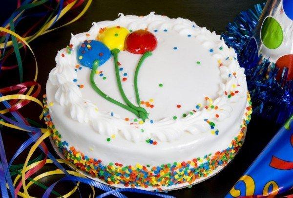 Фото как украсить торт для девочки на день рождения