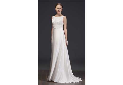 Как выбрать свадебное платье для беременной