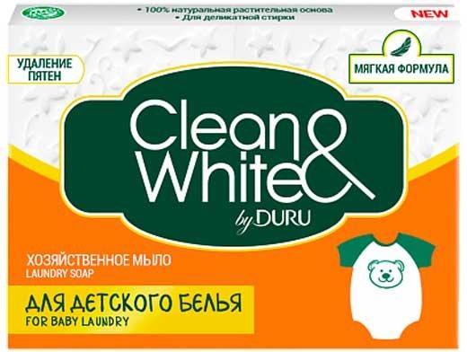 С хозяйственным мылом Duru Clean&White пятна на одежде не страшны