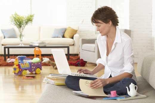 Бизнес в  домашних тапочках, в чем преимущества?