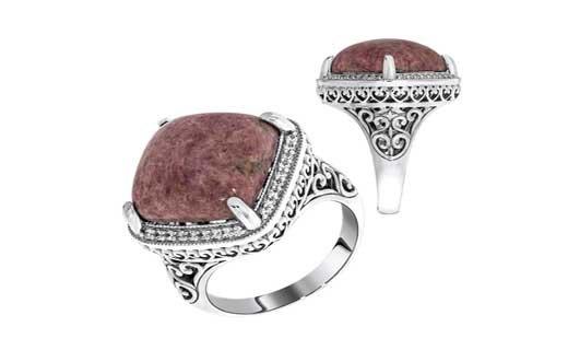 Серебряные кольца их виды и особенности