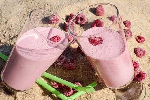 Крепкое здоровье, энергию и позитив дарят молочные коктейли