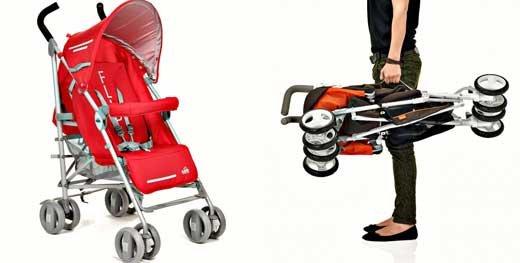 Топ-5 лучших колясок для путешествий