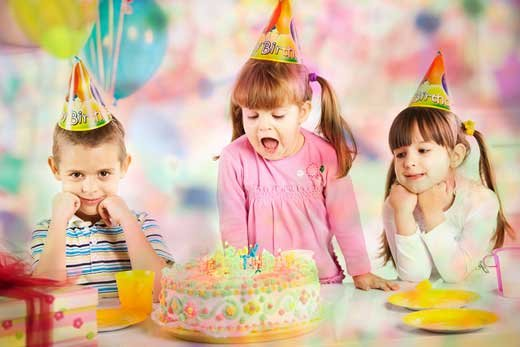 Отмечаем детский день рождения весело и разнообразно