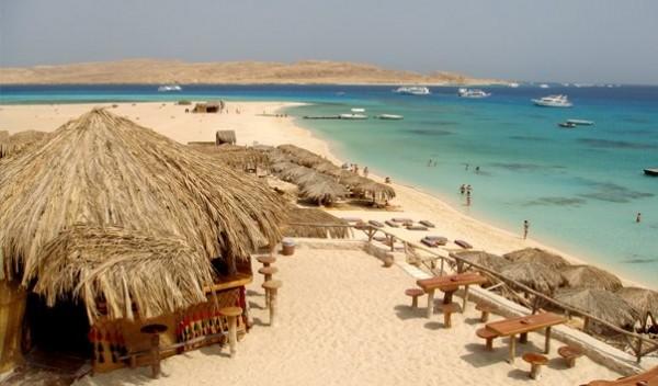 Отель в Хургаде со своим островом