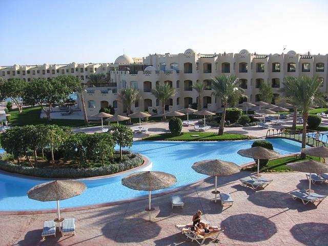 Хургада. Отели Хургады, Египет.