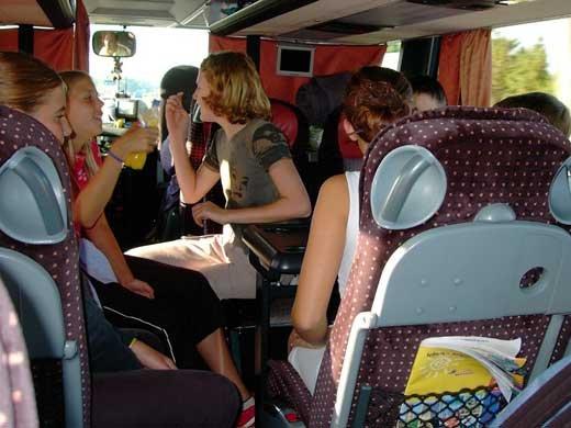 Требования к перевозке детей автобусами