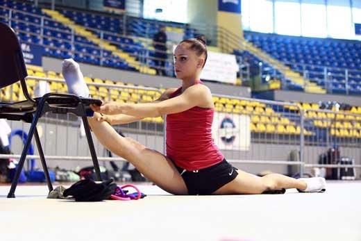 Красота и польза художественной гимнастики